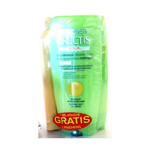 Fructis x 2 apres shampooing fortifiant 200 ml g for Apres shampooing maison