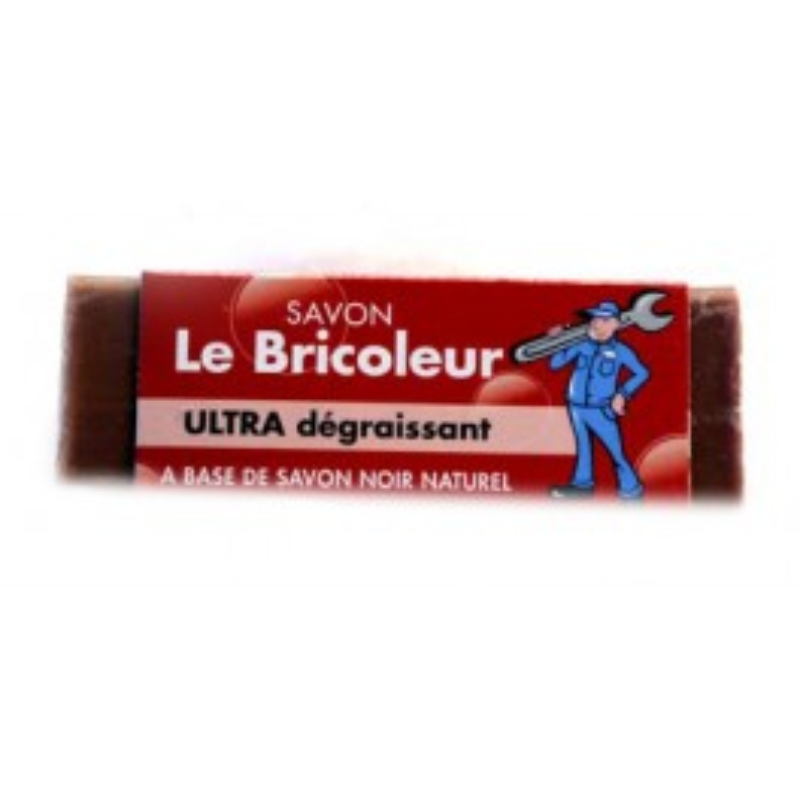 DISPLAY LE BRICOLEUR ZEEP 80 GR ZWARTE NATUURLIJKE ZEEP 42 ST
