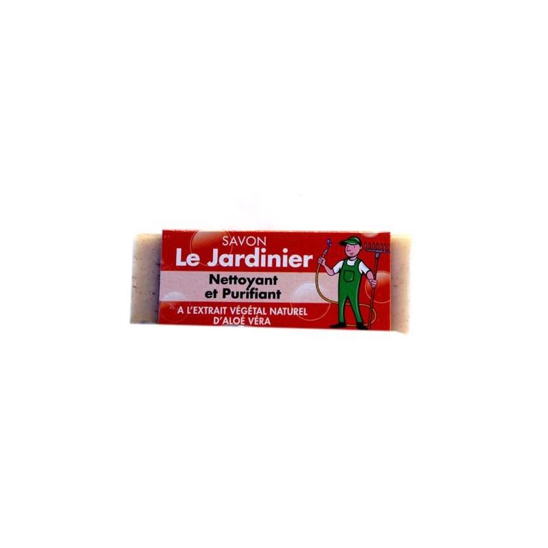 PRESENTOIR LE JARDINIER SAVON 80 GR ALOE VERA X42