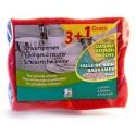 NICOLS  EPONGE DELHAIZE X4 (2 CUISINE / 2 SALLE DE BAINS)