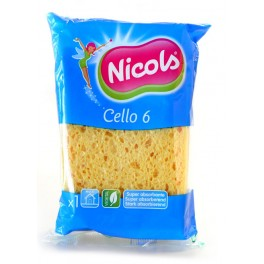 NICOLS CELLULOSE SPONS CELLO 6