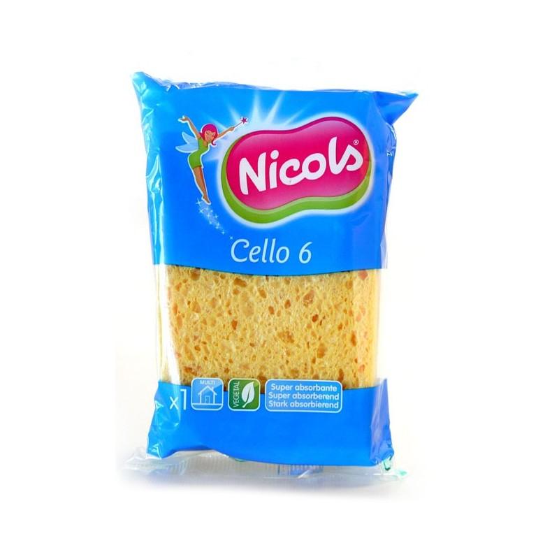 NICOLS EPONGE CELLULOSES CELLO 6