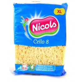 NICOLS CELLULOSE SPONS CELLO 8