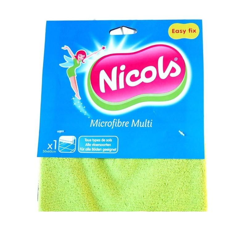 NICOLS TORCHON MICROFIBRES MULTI 50 X 60 CM