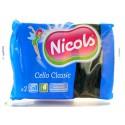 NICOLS CELLULOSE SCHUURSPONS CELLO CLASSIC GROEN X 2