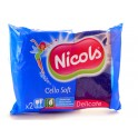 NICOLS CELLULOSE SCHUURSPONS CELLO SOFT BLAUW X 2