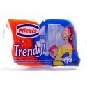 NICOLS TRENDY 2 EPONGES VEGETALES GRATTANTES SALLE DE BAIN