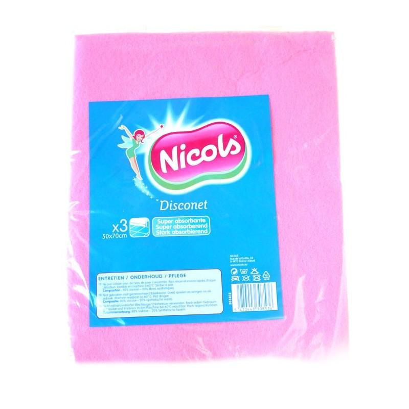 NICOLS VISCOSE DWEIL DISCONET 50 X 70 CM X 3