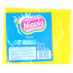 NICOLS LAVETTE VISCOSE HELIOS 38 X 38 CM  X 3