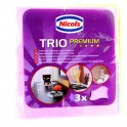 NICOLS TRIO PREMIUM STOFDOEK 3 ST