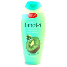 TIMOTEI DOUCHE GEL PURIFYING KIWI EN CITROENBLAD 250 ML