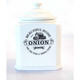 BEAUTIFUL HOME DECO POT OIGNON