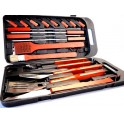 SET BARBECUE 18 PCS COFFRET