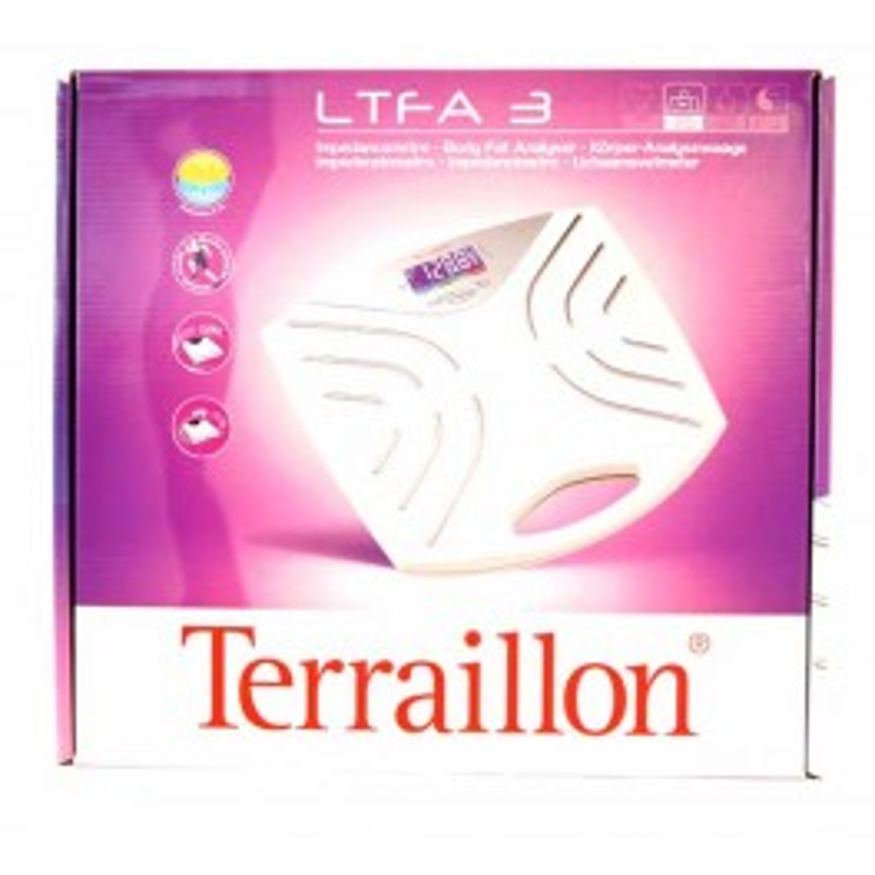 TERRAILLON PERSONENWEEGSCHAAL LTFA3     WIT