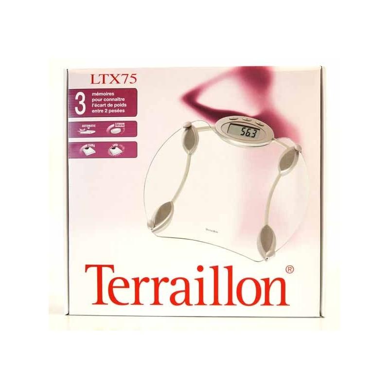 TERRAILLON PESE PERSONNE LTX75 VERRE