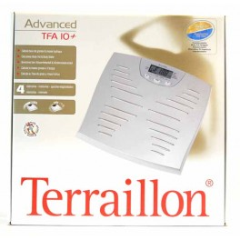 TERRAILLON PESE-PERSONNES ADVANCED TFA 10 PLUS ARGENT