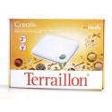 TERRAILLON BALANCE CULINAIRE CREATIS 3 KG BLANC