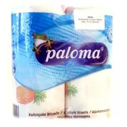 KEUKENROLLEN PALOMA 2-LAAGS 16 X 2 ROL