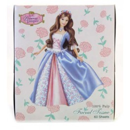 FACIAL TISSUE  BARBIE  60 PIECES