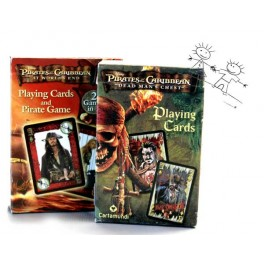 CARTES A JOUER  PIRATES OF THE CARIBBEAN DEAD MANS CHEST
