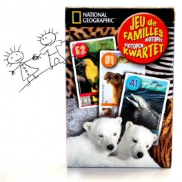 JEU DE FAMILLES  NATIONAL GEOGRAPHIC BIOTOPES