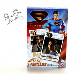JEU DE FAMILLES SUPERMAN RETURNS