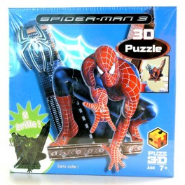 PUZZLE 3D SUPERMAN ROUGE