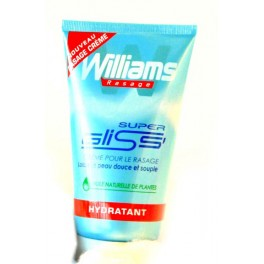 WILLIAMS RASAGE CREME 150 ML  SUPER GLISS
