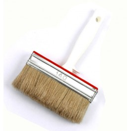 BROSSES LATEX SOIE PURE BLONDE MONTURE PLASTIQUE 3x14CM