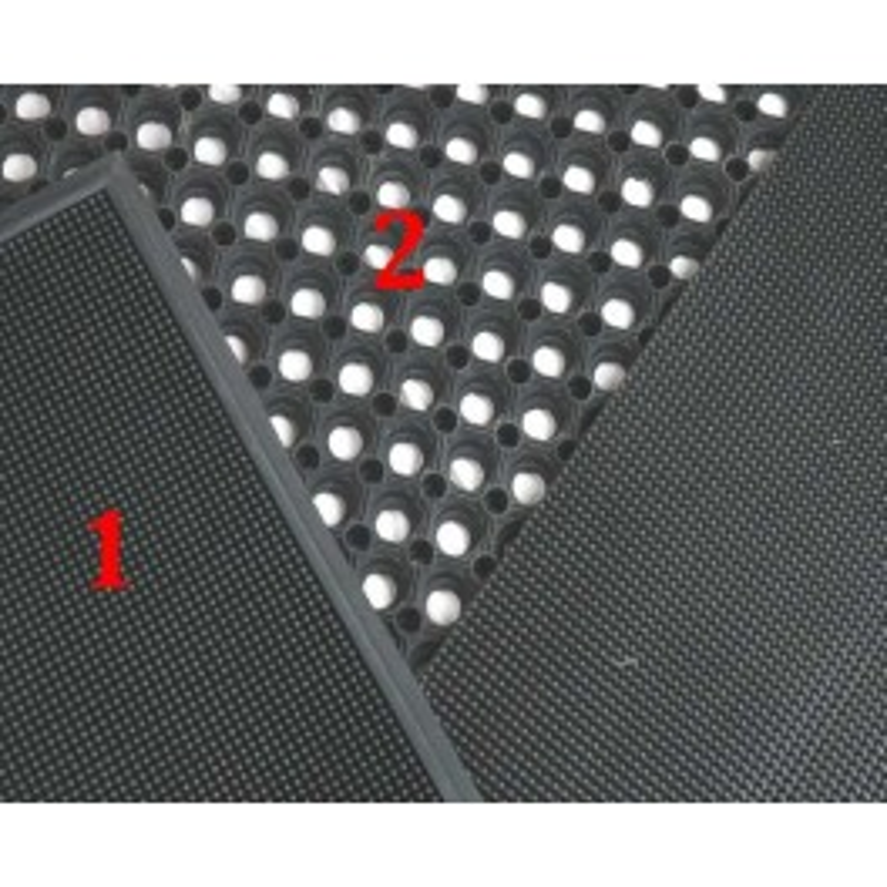 N°1 FELGON MAT - ZWART + BOORD 80x60CM