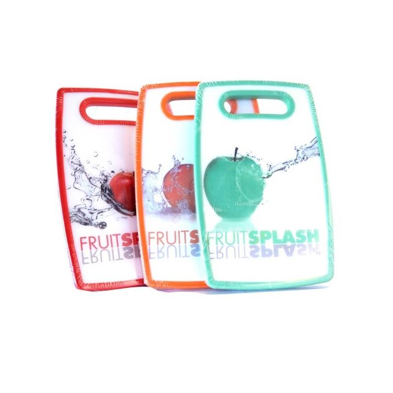 PLANCHE A DECOUPER FRUITSPLASH 16 X 25 CM