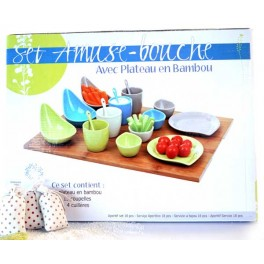 SET AMUSE BOUCHE 18 PIECES