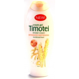 TIMOTEI DOUCHE GEL INTENSIVE SOFTENING HAVERMELK & PERZIK 250 ML