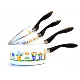 SET CASSEROLES JARDIN 4 PCS (14CM - 20 CM)