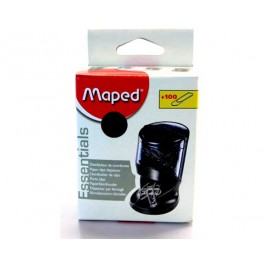 DISTRIBUTEUR DE TROMBONES NOIR MAPED SOCLE AIMANTE