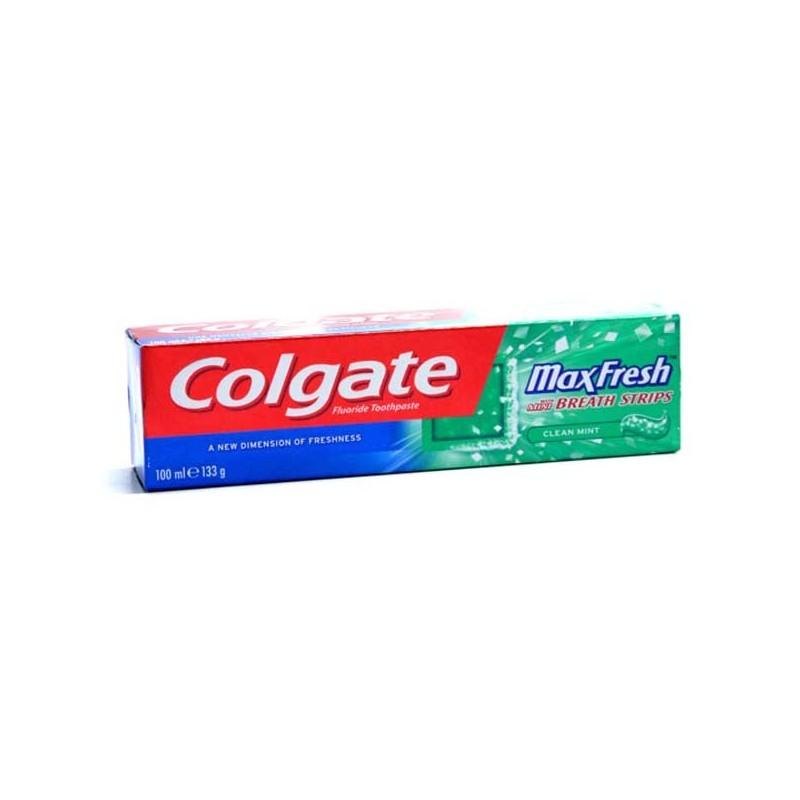 COLGATE TANDPASTA MAX FRESH 100 ML      CLEAN MINT
