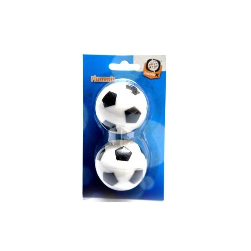BASICX BALLES REBONDISSANTES FOOTBALL X2
