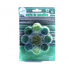 PERLE ROCAILLES TROPICAL  9 PCS