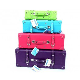SO CITY VALISES DESIGN X 4