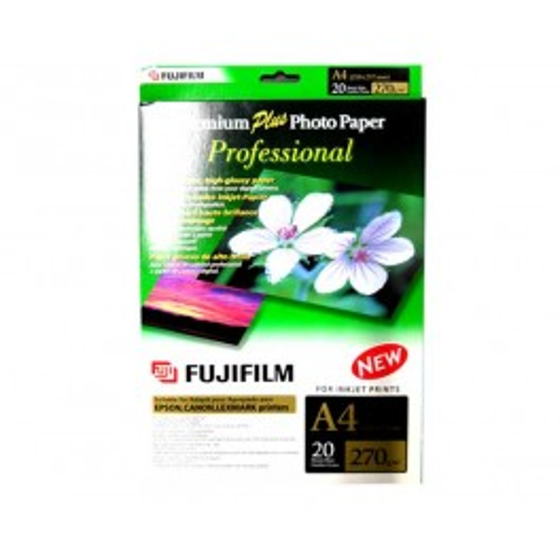 FUJIFILM PREMIUM PLUS PROFESSIONAL 270GR(A4 210 x 297mm, 20 FEUI