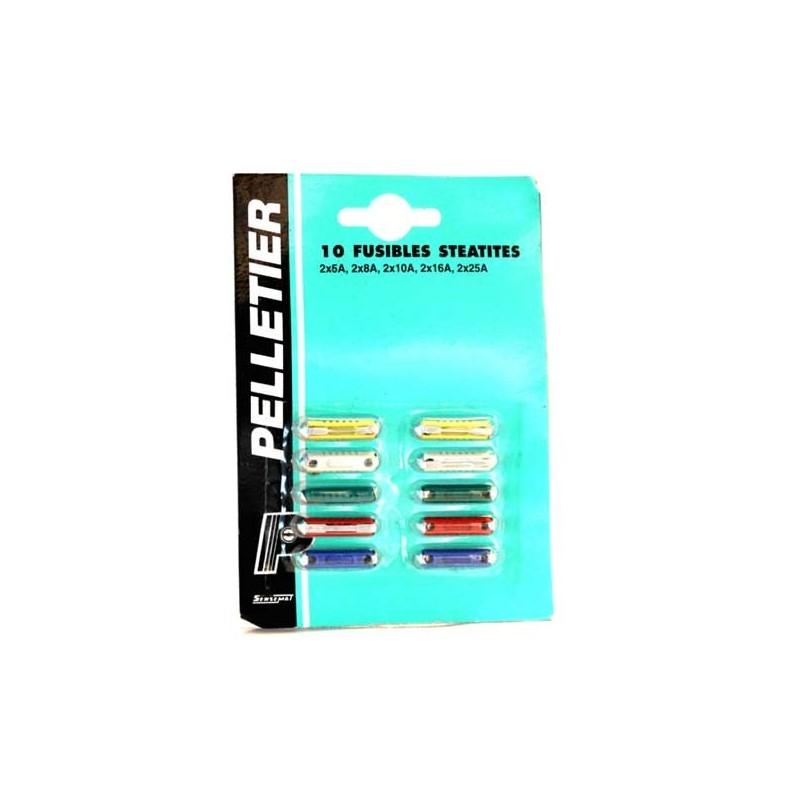 FUSIBLES PELLETIER X 10