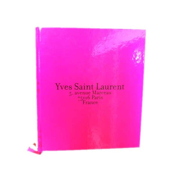 Livre Yves St Laurent Son Album Photo