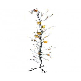 BOUGEOIR ARBRE METAL 158 CM