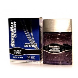 AFTER SHAVE SUPERMAX BLACK SOUL
