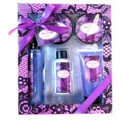 BATH GIFTSET LACE VINTAGE SMALL X5