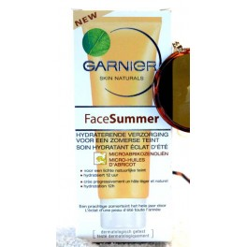 GARNIER FACE SUMMER HYDRATANT ECLAT ABRICOT 50 ML