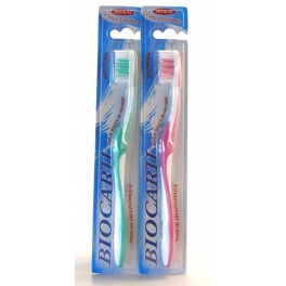 BIOCARIL BROSSE A DENTS MEDIUM X2