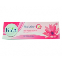 VEET ONTHARINGSCREME + SPATEL 100ML NORMAL SKIN