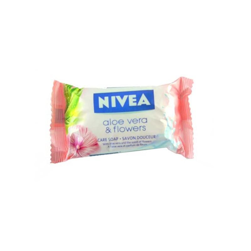 NIVEA SAVON 90 GR  ALOE VERA & FLEURS