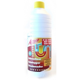 ACTIFF drain-cleaning liquid 1L bottle